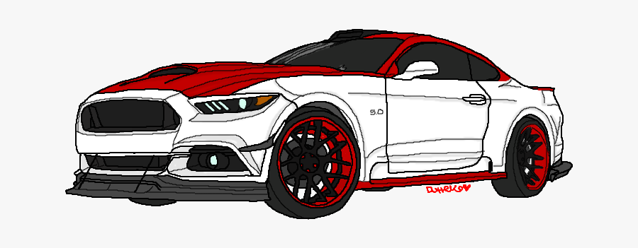 Cars To Draw Mustang