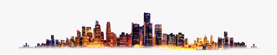 City Designer Dusk Free Frame Clipart - City Background Png, Transparent Clipart