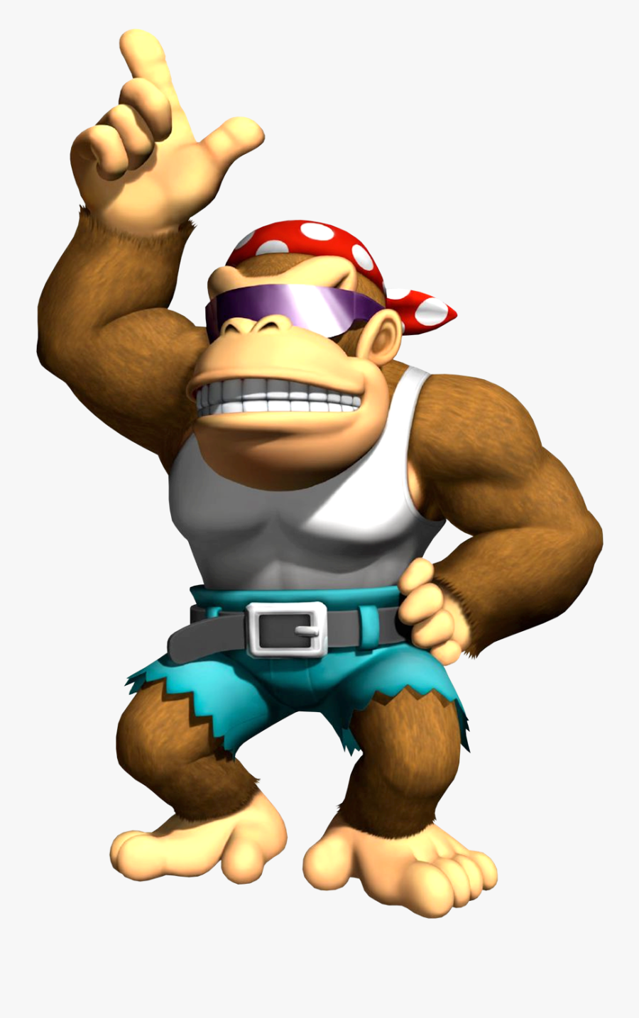 Funky Kong Clipart Png Download Funky Kong Mario Kart