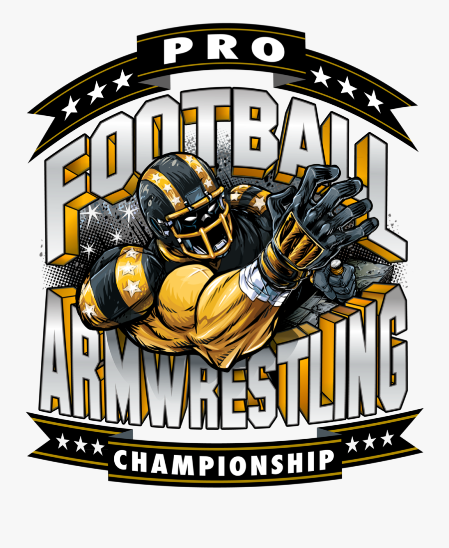 Pro Football Arm Wrestling Championships, Transparent Clipart