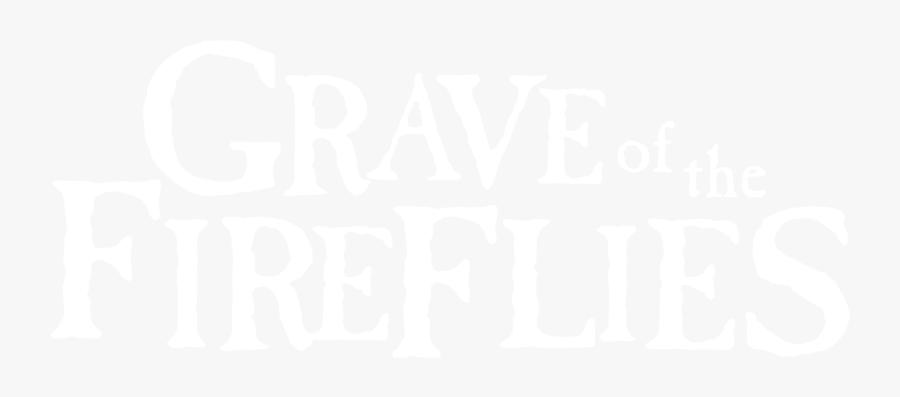 Transparent Grave Png - Grave Of The Fireflies Logo, Transparent Clipart