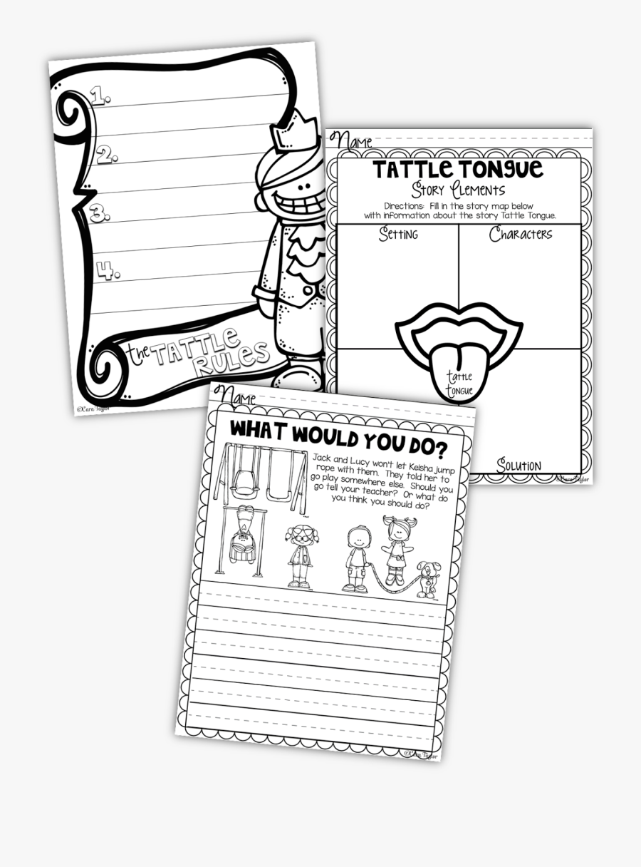 Base Case Of The Tattle Tongue Activities Free Transparent Clipart Clipartkey