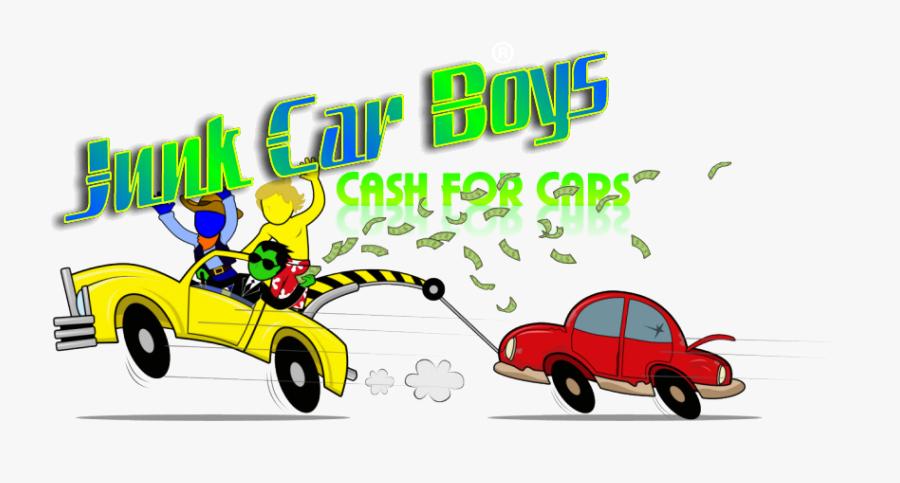 Junk Car Cliparts - Junk Car Boys Cash For Cars, Transparent Clipart