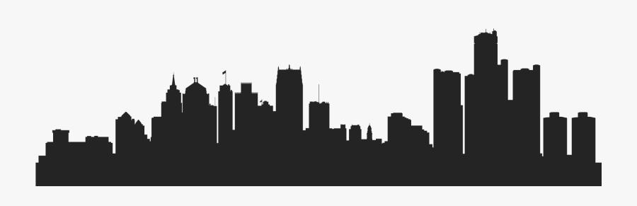 Transparent Philadelphia Skyline Clipart - Detroit Png, Transparent Clipart