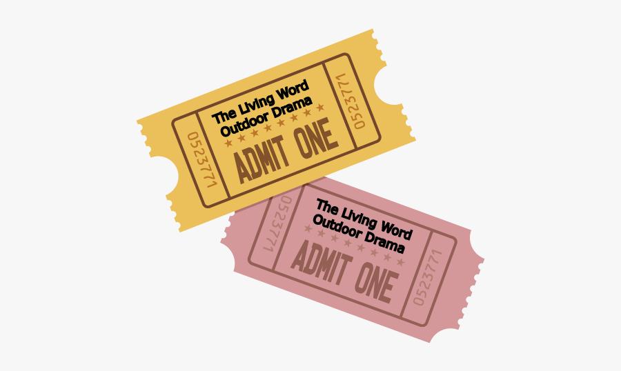Adult Ticket - Parallel, Transparent Clipart