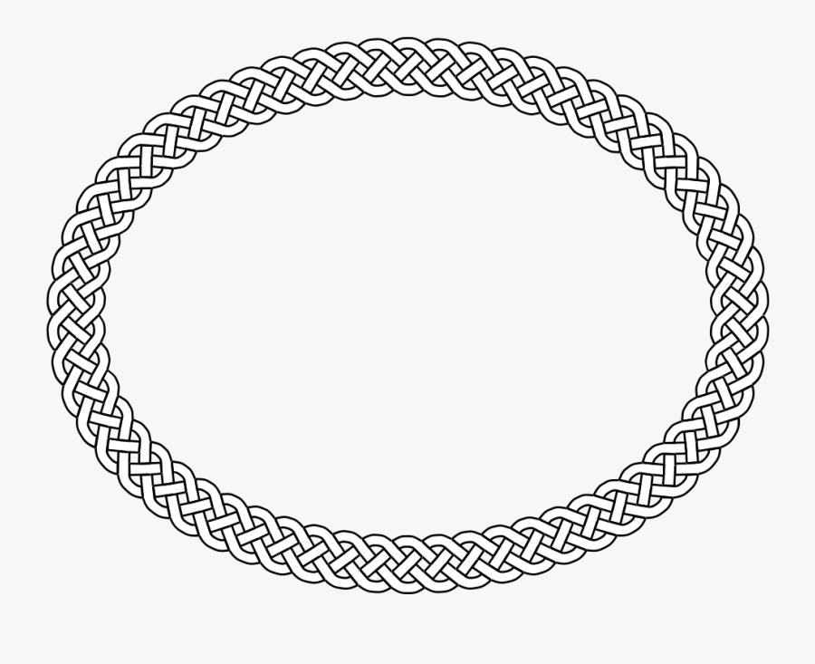 Transparent Oval Border Png - Circle, Transparent Clipart