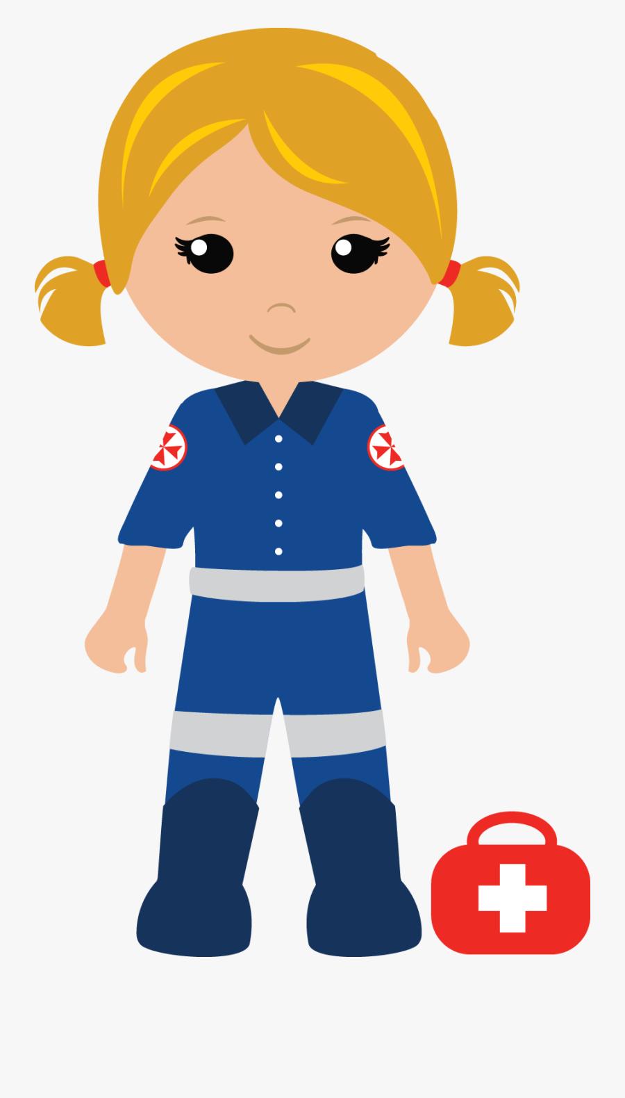 Cartoon Paramedic Clipart, Transparent Clipart