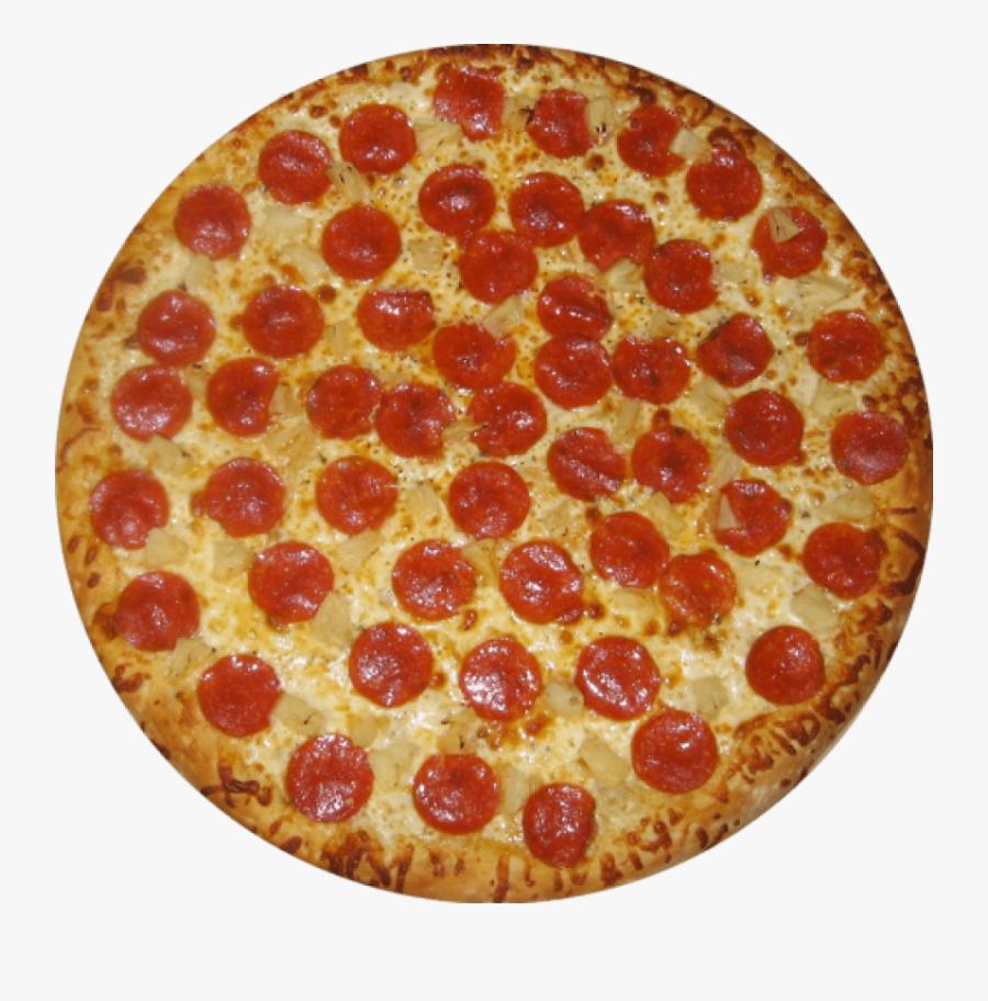 Pepperoni Transparent Pizza - Pepperoni Pizza, Transparent Clipart