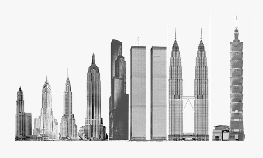 Transparent Tall Building Clipart - Tall City Building Png, Transparent Clipart