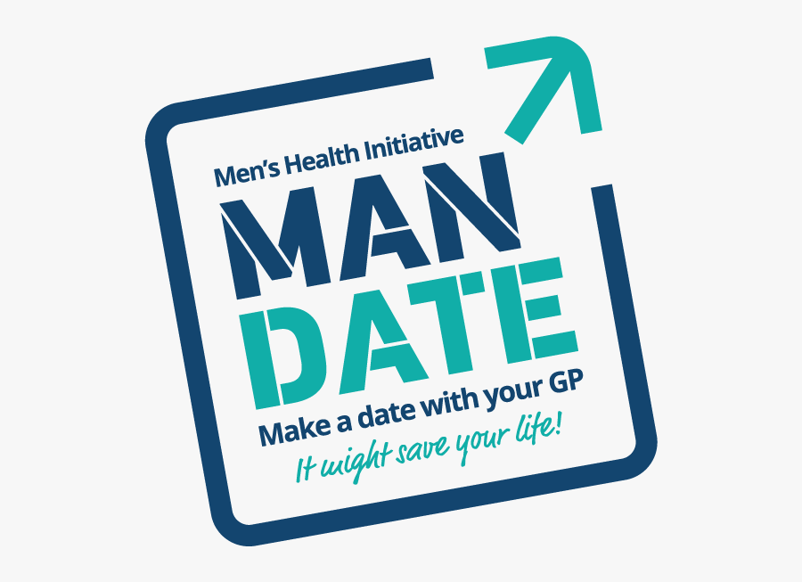 Logo - Mandate Men's Health, Transparent Clipart
