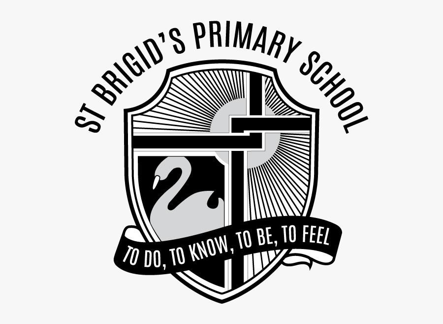 """St Brigid""""s School - Emblem, Transparent Clipart"""