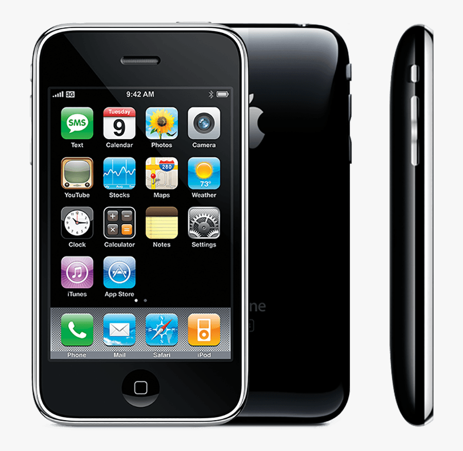Transparent Apple Iphone Clipart - Iphone 3gs, Transparent Clipart