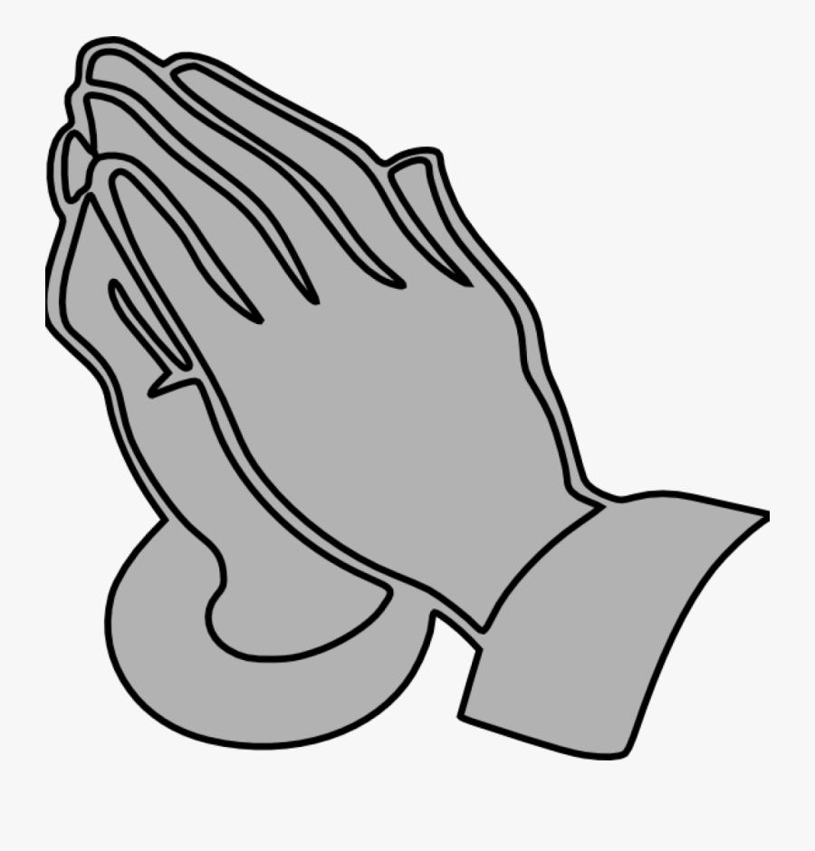 Praying Hands Clipart Praying Hands Clip Art Free Download - Praying Hands Clipart Gray Grey, Transparent Clipart
