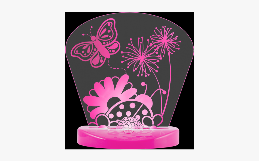 Lights By Night Color-changing Nightlight, Butterfly - Moths And Butterflies, Transparent Clipart