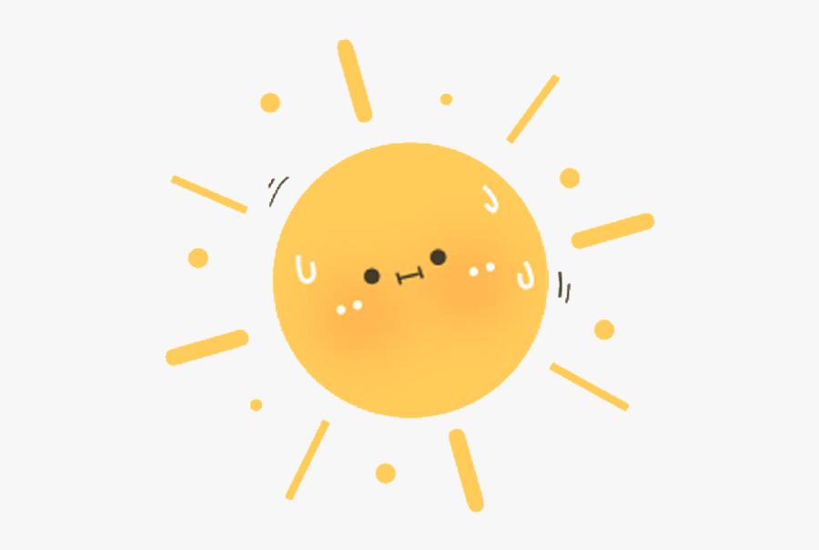 #cute #kawaii #stickers #summer #sun #sunstickers #summerstickers - Transparent Cute Summer Stickers, Transparent Clipart