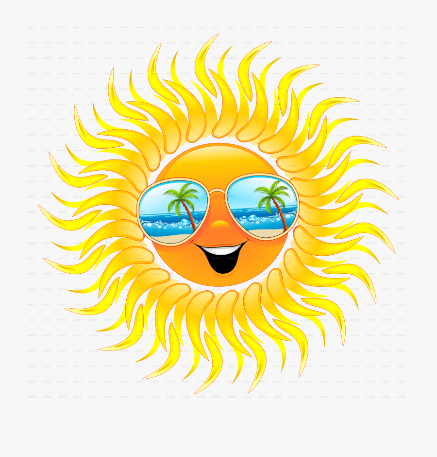 Transparent Summer Sun Png - Summer Season Seasons Cartoon, Transparent Clipart