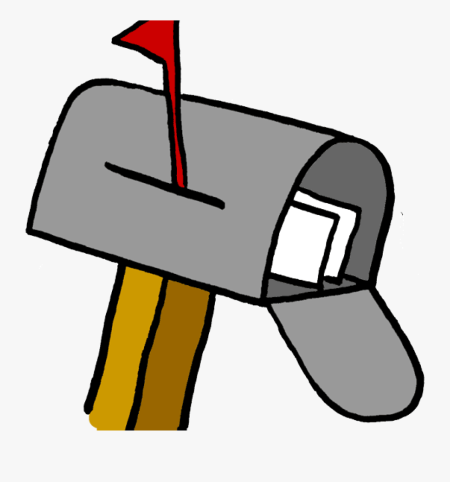 Mail Box Clipart 19 Mailbox Image Black And White Library - Mail Clipart, Transparent Clipart