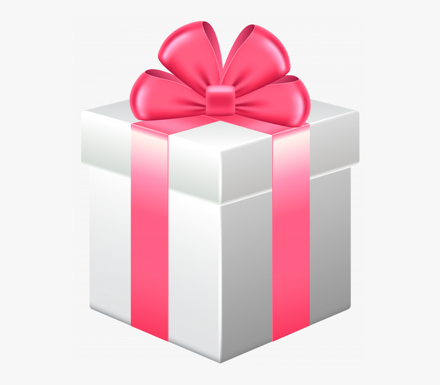 Gift Ideas Pink Gift Box With Bow Png Clipart Best - Gift Box Clipart, Transparent Clipart