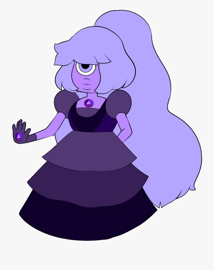 Purple Sapphire Fusion Gemcrust - Purple Sapphire Steven Universe, Transparent Clipart