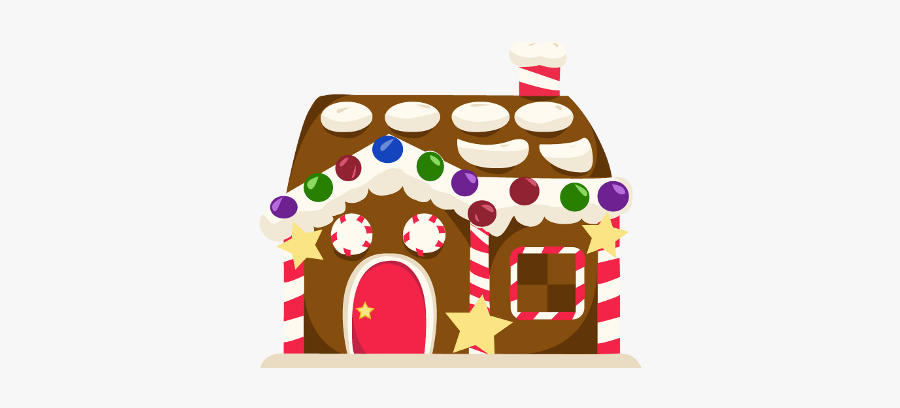 Collection Of Clipart - Gingerbread House, Transparent Clipart