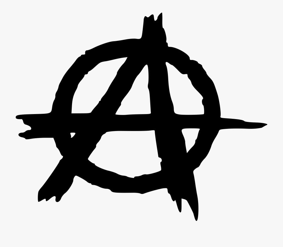 Anarchy, Political, Social, Rebellion, Symbol - Anarchy Symbol, Transparent Clipart