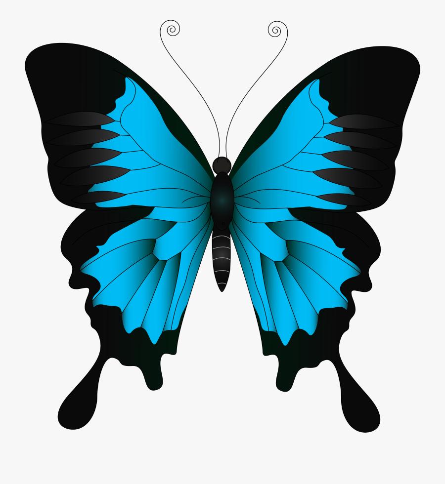 Yellow Butterfly Clip Art , Transparent Cartoons - Clipart Yellow Butterfly, Transparent Clipart