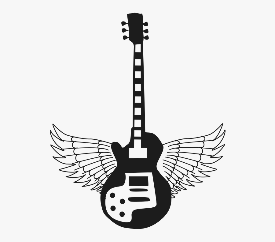 Silhouette Of Musical Instruments, Transparent Clipart