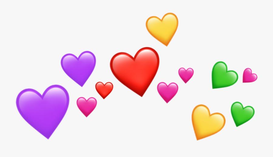 Heart Emojis Png - Heart Emoji Png Transparent, Transparent Clipart