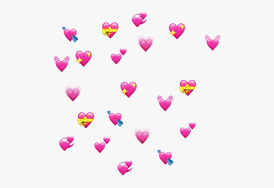 Heart Emoji Meme Transparent, Transparent Clipart