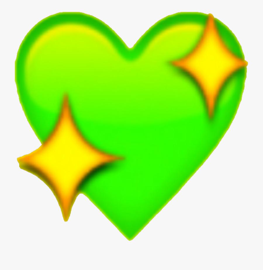 Emoji Heart Sticker Text Messaging - Heart Star Emoji Png, Transparent Clipart