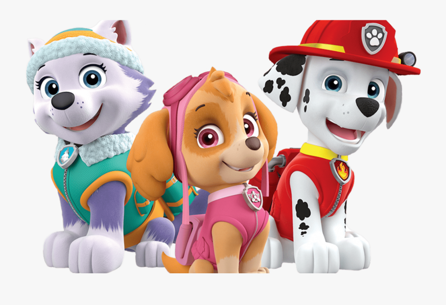 Head Clipart Paw Patrol - Skye And Marshall Paw Patrol, Transparent Clipart