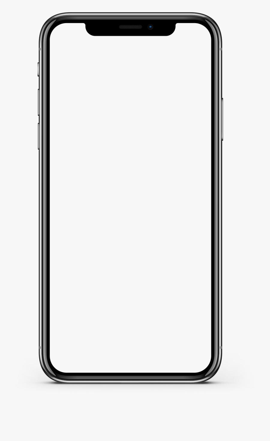 Iphone X Screen Mockup - Iphone 10 Mockup Png, Transparent Clipart