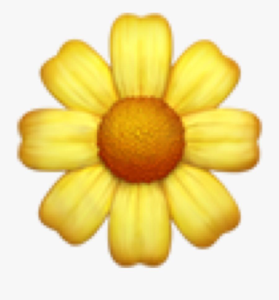 Transparent Meme Emojis Png - Yellow Flower Emoji Png, Transparent Clipart