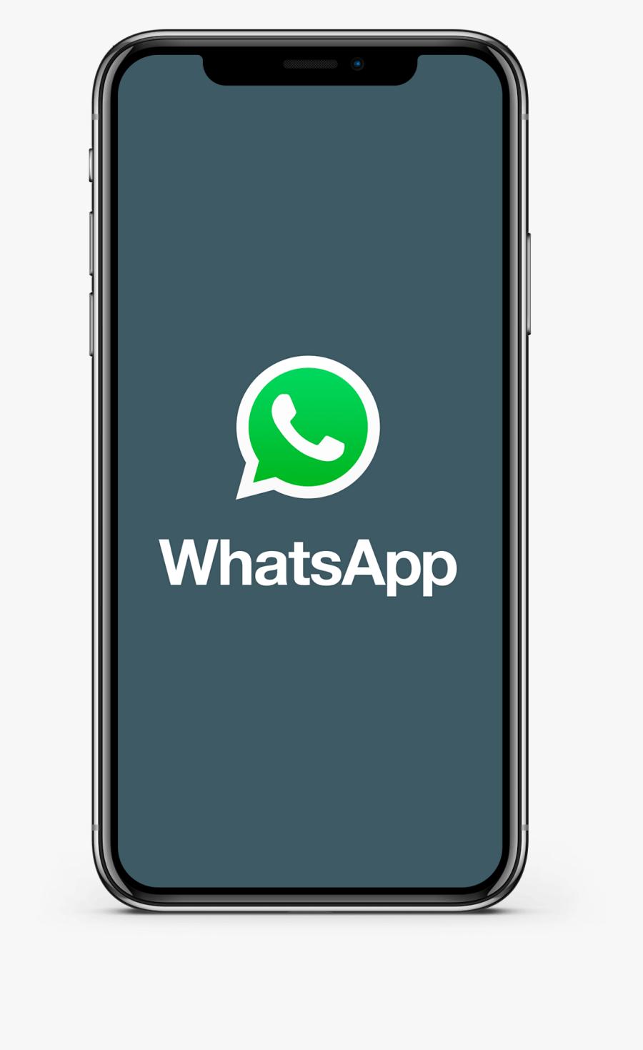 Whatsapp App Iphone - Mobile And Whatsapp Logo, Transparent Clipart