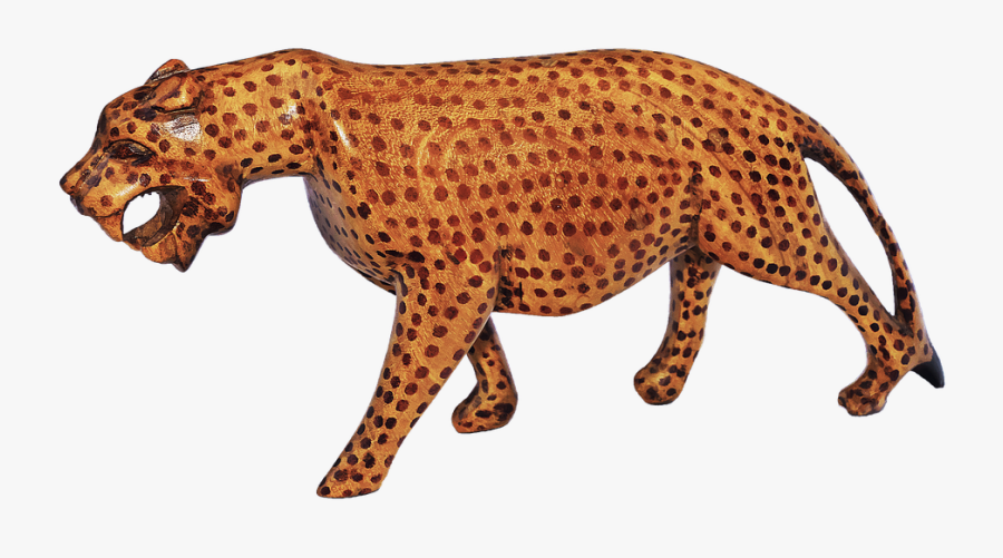 Cliparts Shop Of Library - African Leopard, Transparent Clipart