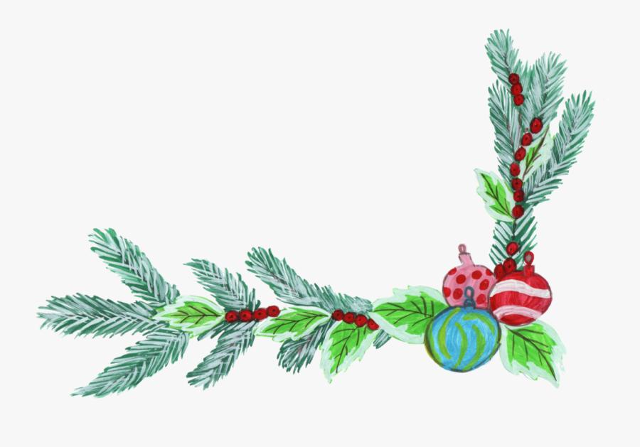 Transparent Decorations Png - Christmas Corner Decorations Png, Transparent Clipart
