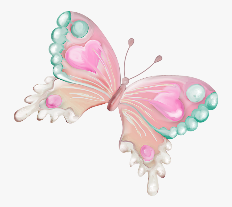 Butterfly Watercolor Painting Clip Art - Watercolor Butterfly Transparent Background Png, Transparent Clipart