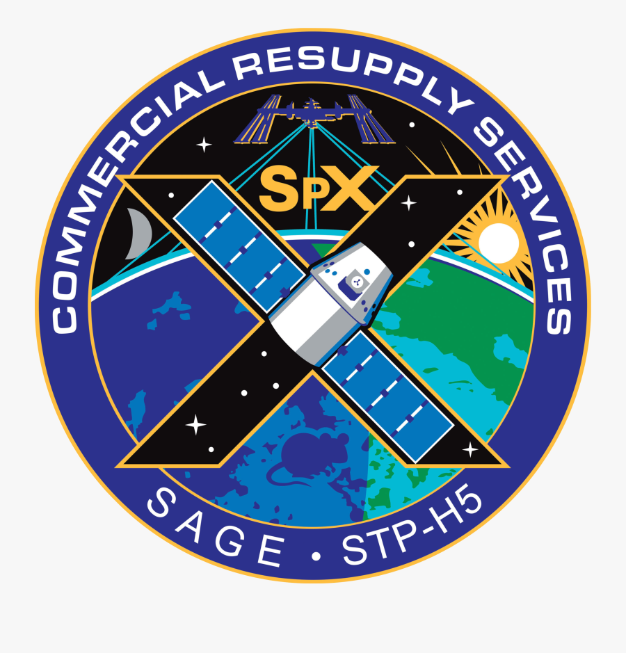Spacex - Emblem, Transparent Clipart