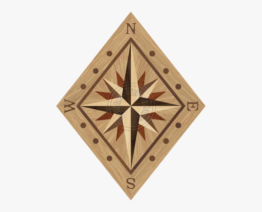 Compass Roses - Compass Rose, Transparent Clipart