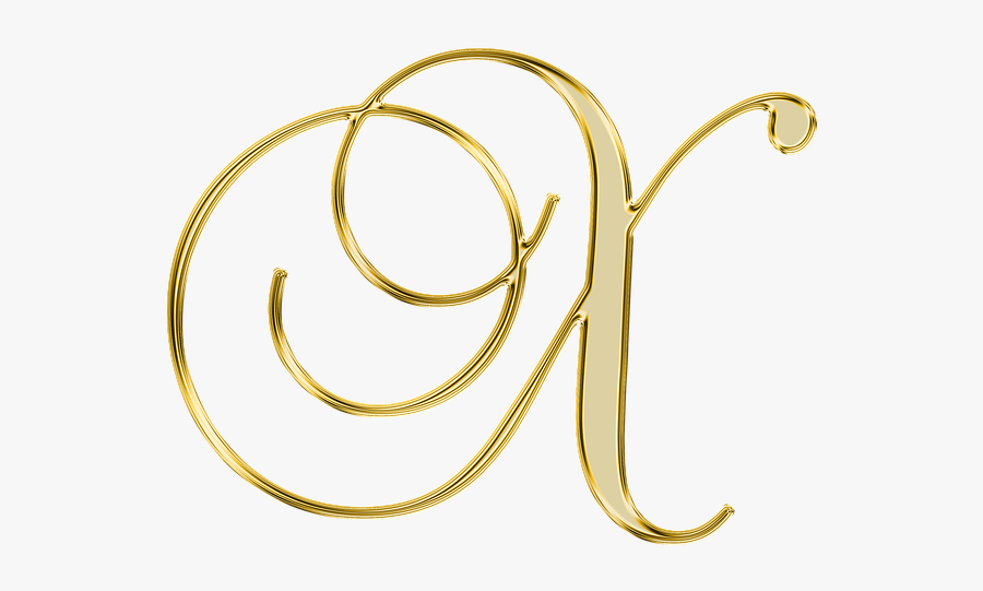 Alphabet, Letter, Initial, Background, Scrapbooking, - Gold Letter M Png, Transparent Clipart