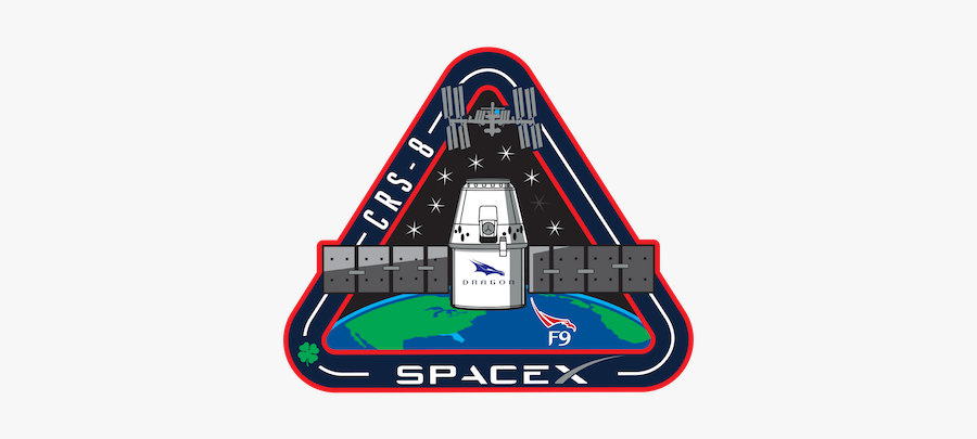 Spacex Mission Patches, Transparent Clipart