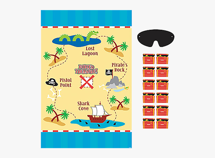 Pirates Of Caribbean Theme Games Party, Transparent Clipart