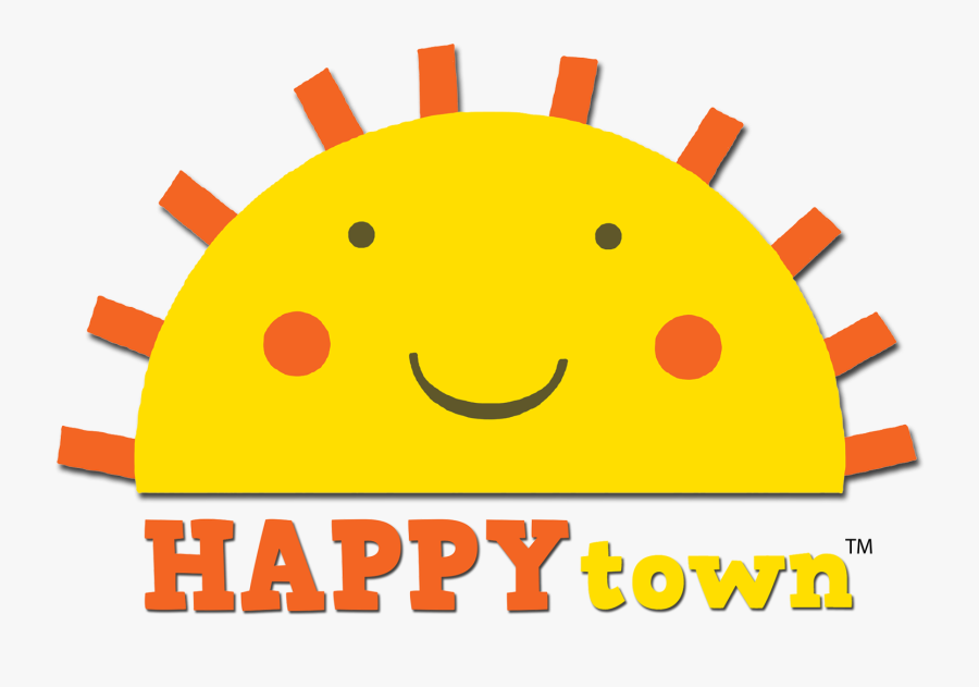 Welcome To Happytown - Smiley, Transparent Clipart