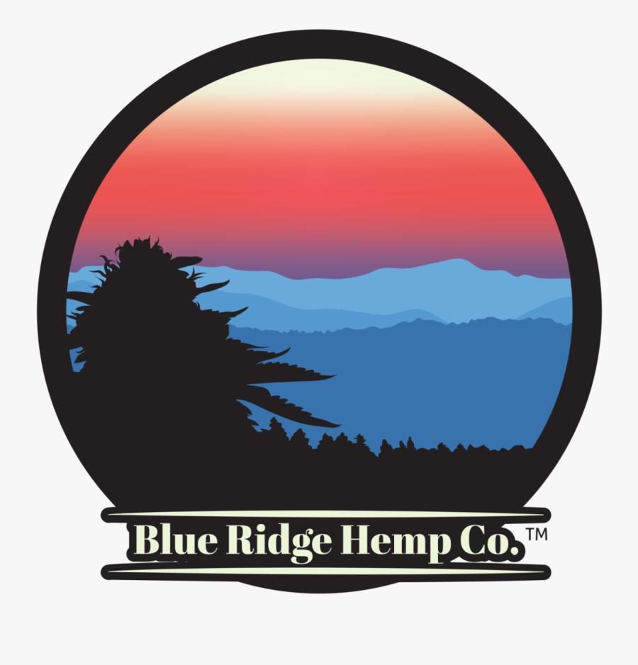 Blue Ridge Hemp Logo, Transparent Clipart