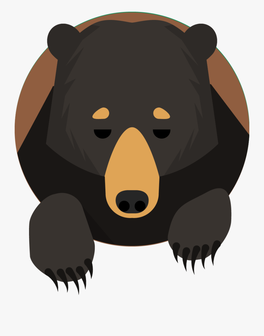 Forest Animal Icon-10 - Bear Mountain Icon, Transparent Clipart