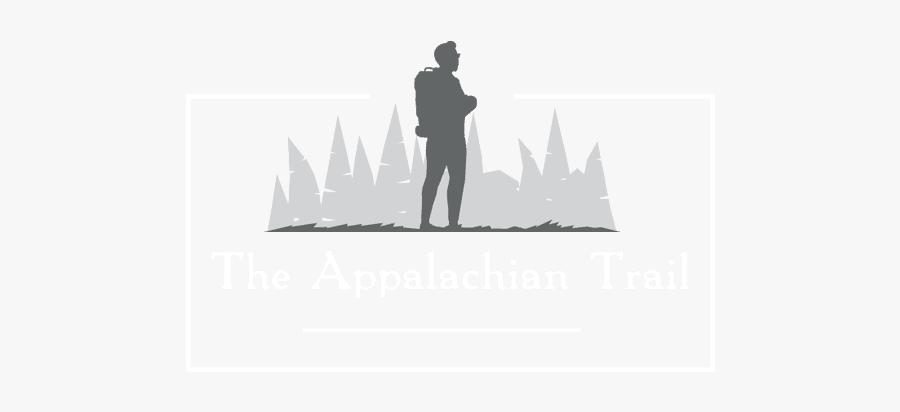 The Appalachian Trail - Silhouette, Transparent Clipart