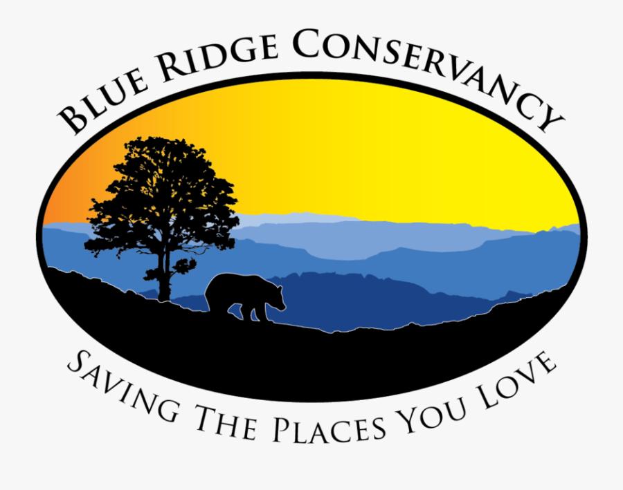 Brc-color2 Ovaltext Nc - Blue Ridge Conservancy, Transparent Clipart