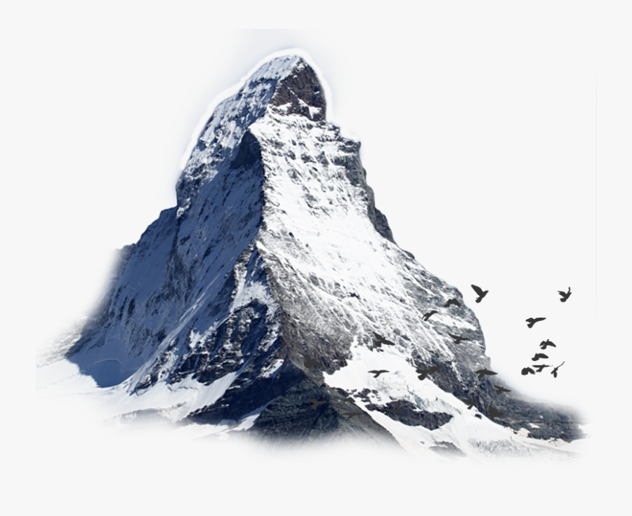 Transparent Mountain Outline Png - Mountain Peak Transparent, Transparent Clipart