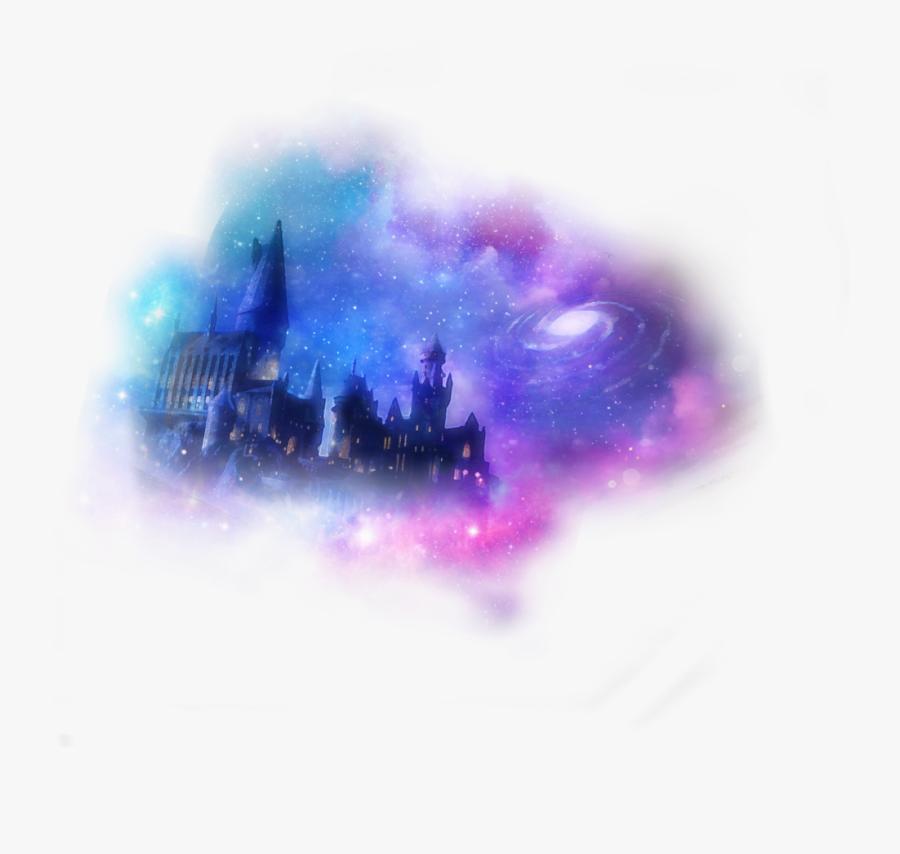 Hogwarts Castel 💙💜✨⭐️⚡️ - Hogwarts Harry Potter, Transparent Clipart