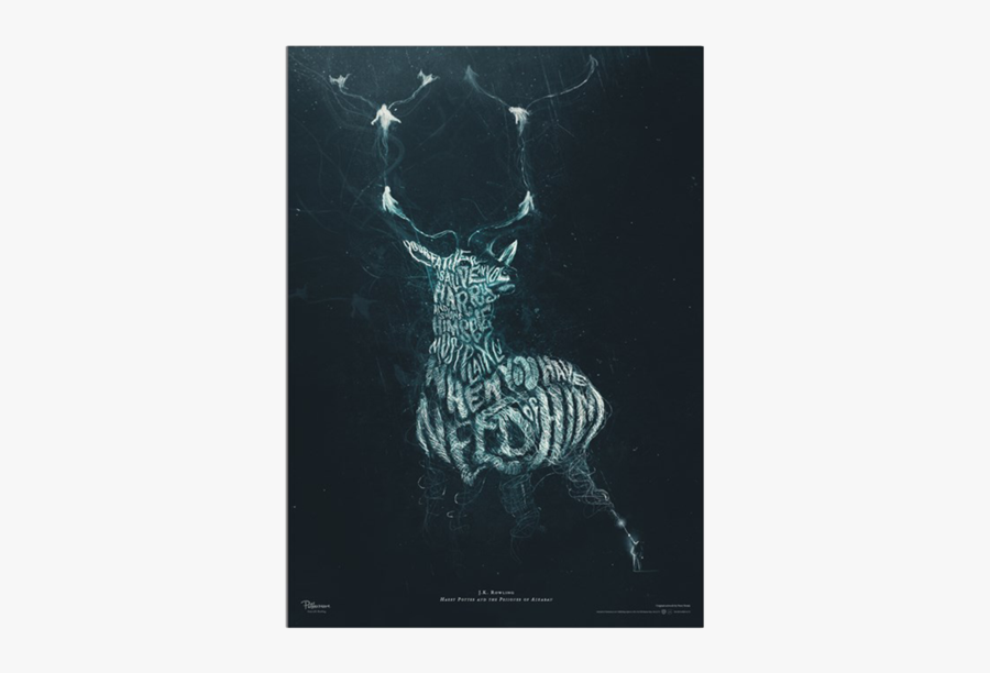 Stag Vector Harry Potter Patronus Harry Potter Posters